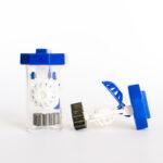 two Orthok Lens cases